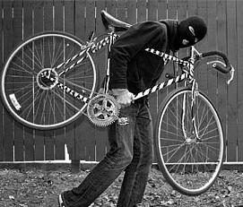 """В Измаиле средь бела дня """"угнали"""" велосипед"""