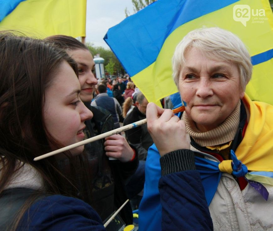 Измаильчанка: Донбасс - Украина! И мне это не кто-то сказал,  я увидела своими глазами...