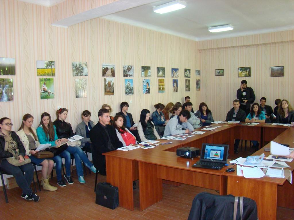 Студенты ИГГУ  посетили семинар саморазвития