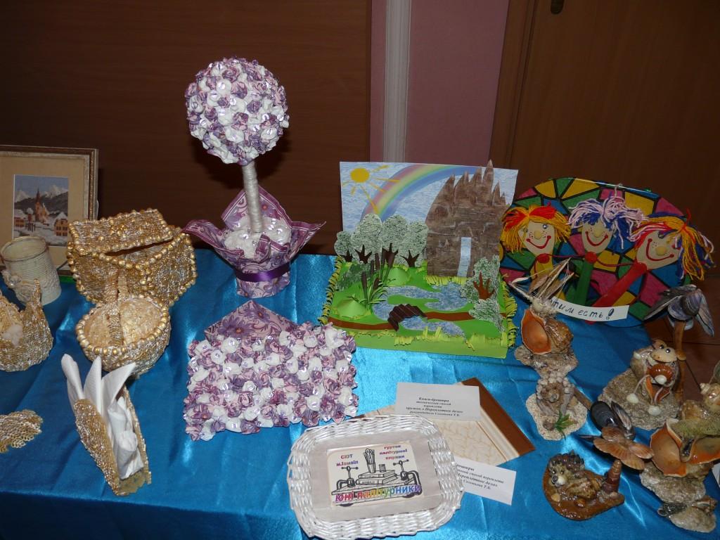 В Измаиле прошла выставка детского творчества (фото)