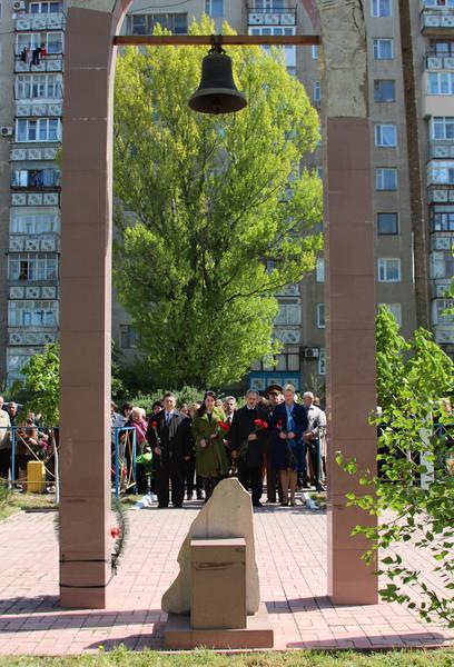 В Б.-Днестровском вспомнили героев ЧАЕС (фото)