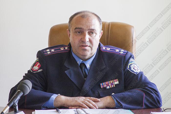 Новый начальник Измаильской милиции: Охрана правопорядка — дело общее