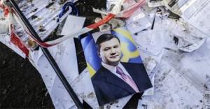 Янукович потребовал остановить военные действия Украины