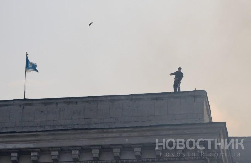 Кто же поджег Дом профсоюзов в Одессе (видео)