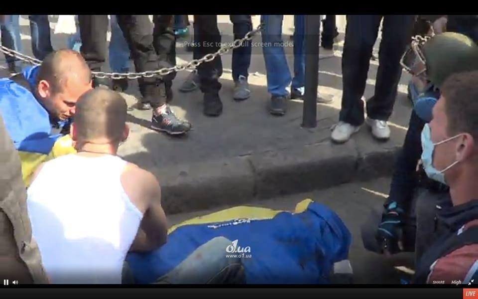 В Одессе начались столкновения пророссийских активистов и патриотов, есть убитые (фото, видео, онлайн)