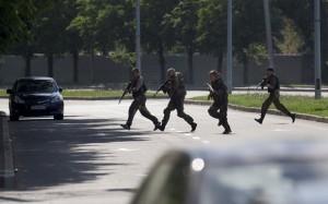 АТО в Донецке: 43 террориста ранено, из них только 8 из Донецка (видео)