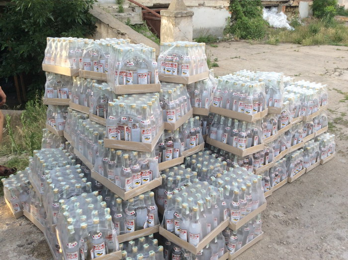В Бессарабии изъяли 10 тысяч фальшивой водки