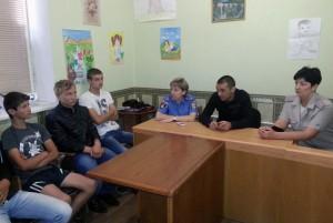 Белгород-Днестровская милиция встретилась с подростками