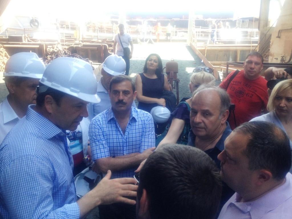Тигипко в Измаиле - предвыборный пиар? (фото)