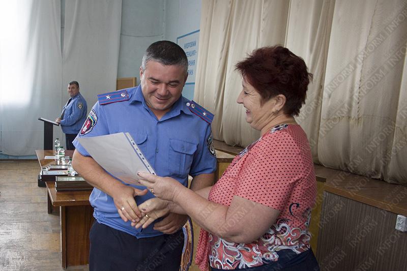 Как награждали участковых Измаильского р-на (ФОТО)
