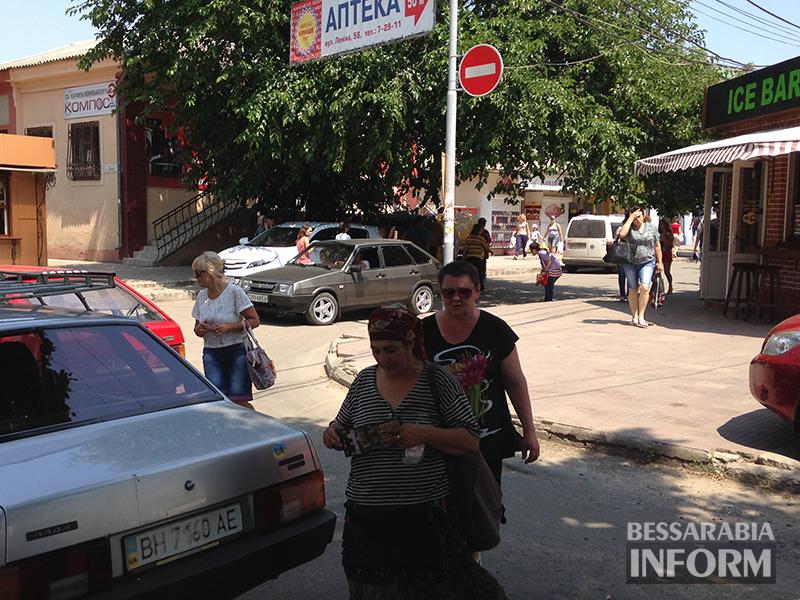 51 Измаил: Пользуясь работой ЖКХ водители не боятся нарушать ПДД (ФОТО)