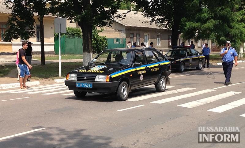 Измаил: Сотрудник милиции сбил женщину (фото)