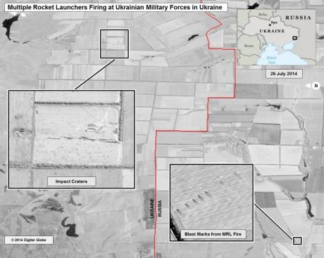 США показали, как Россия обстреливает Украину