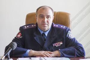 Начальника Измаильского горотдела милиции поздравляют сотрудники