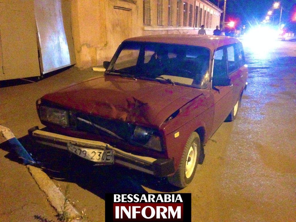 ДТП в Измаиле: Сотрудники ГАИ не дали развести неопытного водителя (фото, видео)