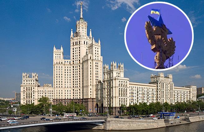 30d15c37db8c7d2288070d3a1f5042e0 Украинский руфер признался, что раскрасил в Москве звезду