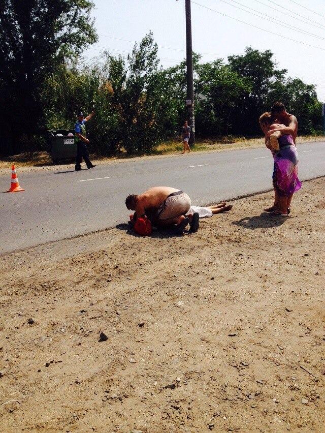 B7wm0y6TcF8 В Затоке женщина трагически погибла под колесами авто (фото)