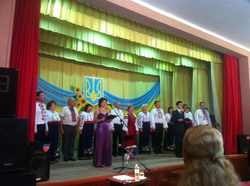 В Килие уже начали отмечать День Независимости Украины