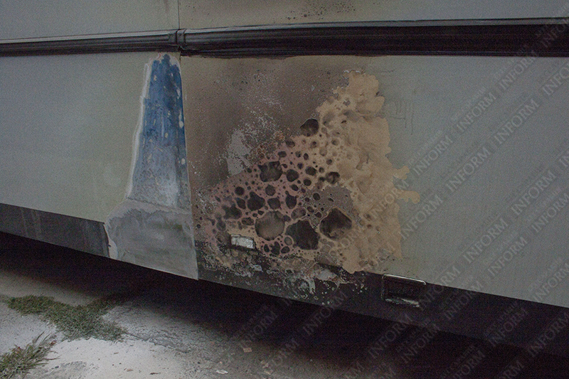 podjog-autoperevozchika-izmail-1 В Измаиле очередная попытка автоподжога. На этот раз война перевозчиков?