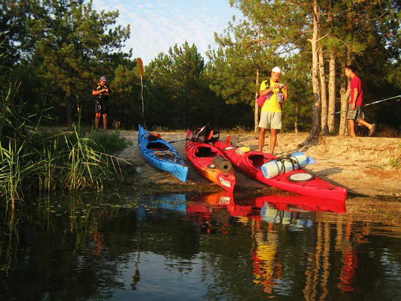 zayak-zapluv-izmail-vilkovo-1 3 дня на Дунае. Измаильчане на каяках проплыли более 70 км (фоторепортаж)