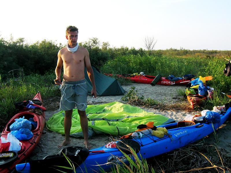 zayak-zapluv-izmail-vilkovo-16 3 дня на Дунае. Измаильчане на каяках проплыли более 70 км (фоторепортаж)