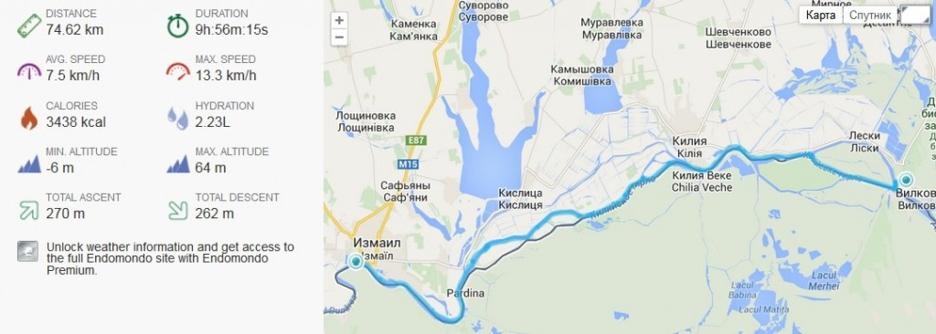 zayak-zapluv-izmail-vilkovo-2-1024x366 3 дня на Дунае. Измаильчане на каяках проплыли более 70 км (фоторепортаж)
