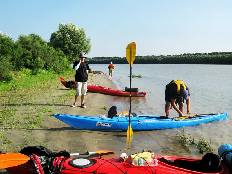 zayak-zapluv-izmail-vilkovo-3 3 дня на Дунае. Измаильчане на каяках проплыли более 70 км (фоторепортаж)