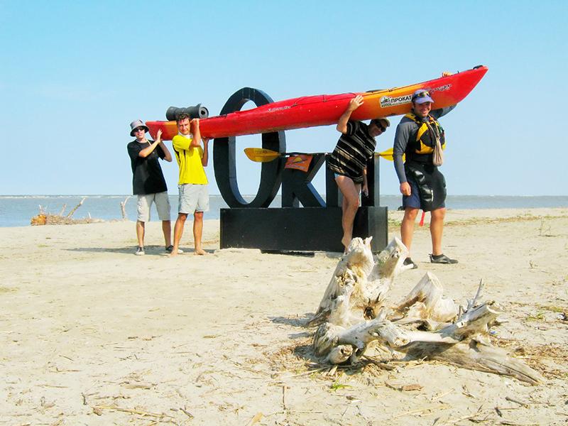 zayak-zapluv-izmail-vilkovo-6 3 дня на Дунае. Измаильчане на каяках проплыли более 70 км (фоторепортаж)