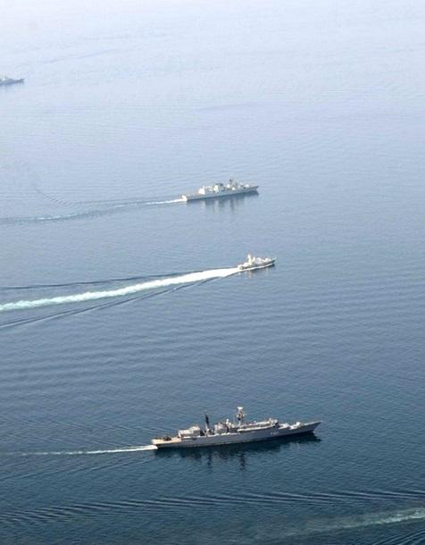 В Черном море закончились военно-морские учения (фото)