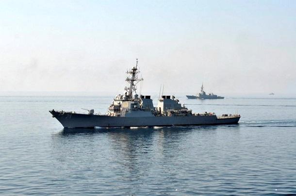 1501647 В Черном море закончились военно-морские учения (фото)
