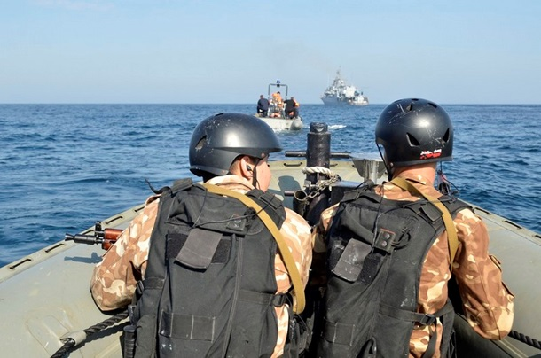 1501649 В Черном море закончились военно-морские учения (фото)