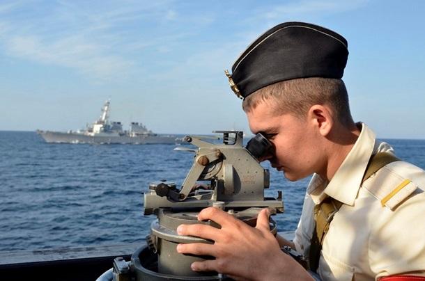 1501651 В Черном море закончились военно-морские учения (фото)