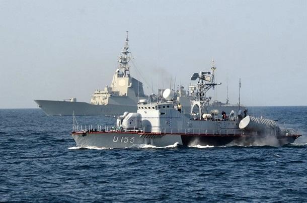 1501652 В Черном море закончились военно-морские учения (фото)