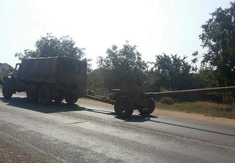 В Бессарабии противотанковый дивизион проводит тренировки (фото)