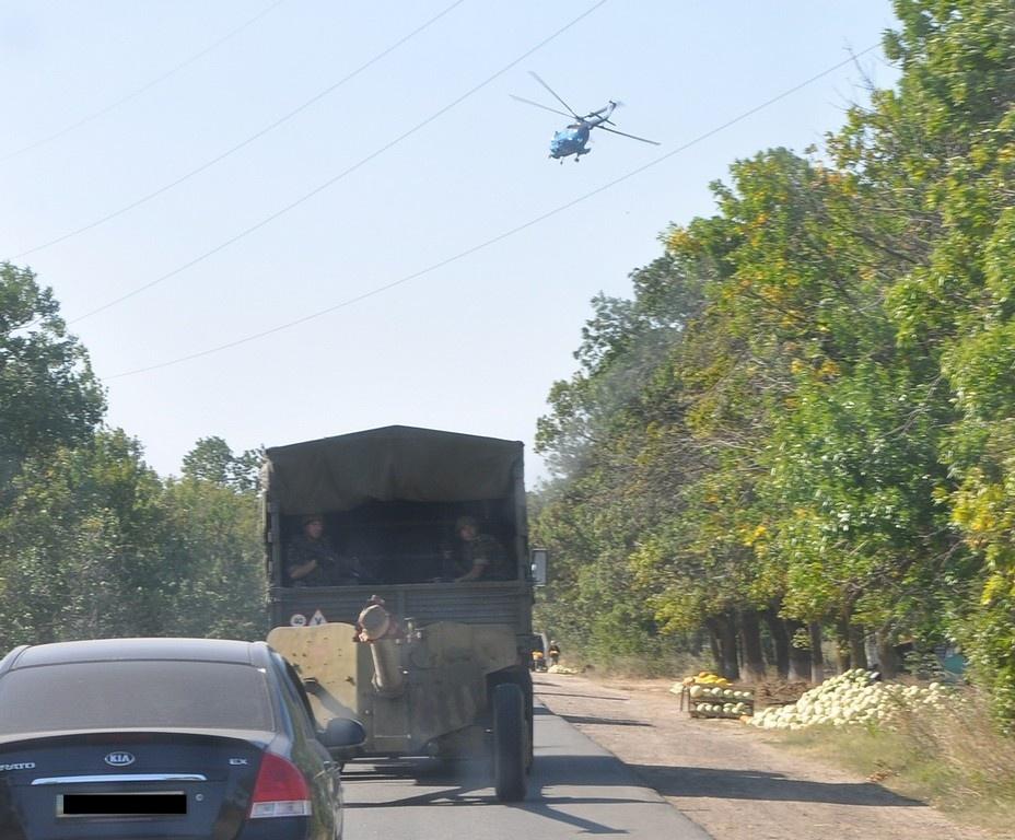 855572 В Бессарабии  прошли учения противотанкового подразделения (фото)