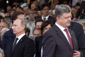 Порошенко и Путин договорились о перемирии на Донбассе