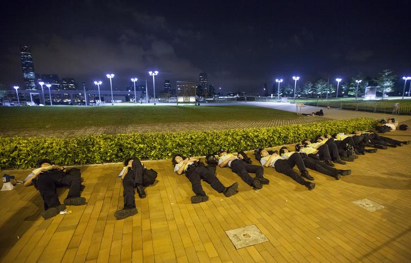 "98468a1c1315e4e41710a081f3c13e46 ""Майдан"" в Гонконге: люди требуют демократических выборов"