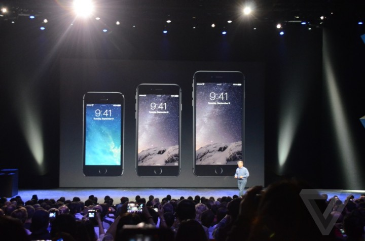 apple iPhone 6, новая платформа iOS 8, а теперь еще и  Apple Watch