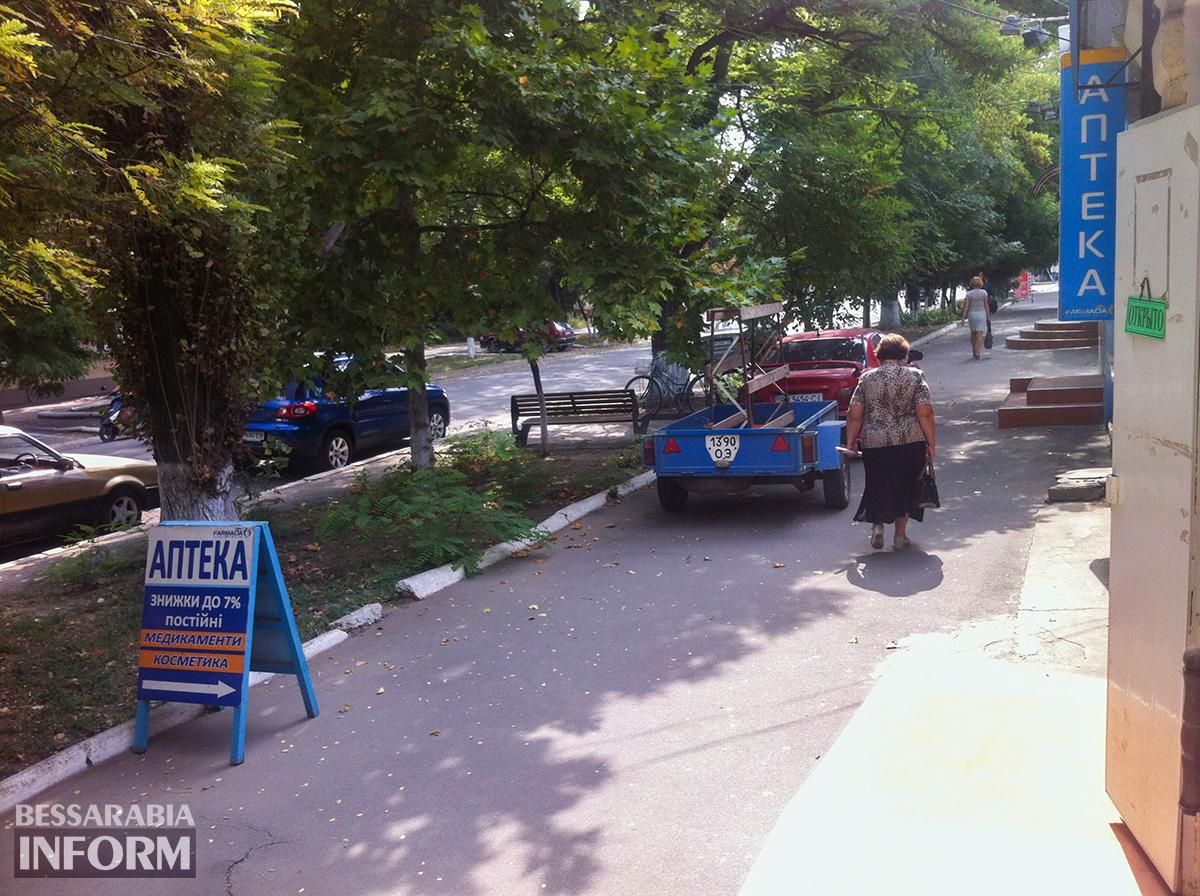 """Килия: Mitsubishi в рубрике """"Я паркуюсь как дурак"""" (фото)"""