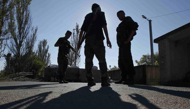 ilovaysk Боевики с утра продолжают обстрел позиций сил АТО