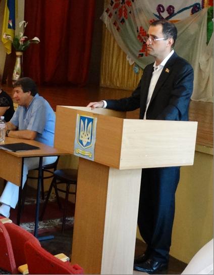 Сессия Ренийского горсовета прошла с участием заслуженного экономиста Украины (фото)