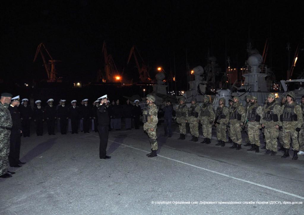Вернувшихся пограничников из АТО встречали аплодисментами (ФОТО)