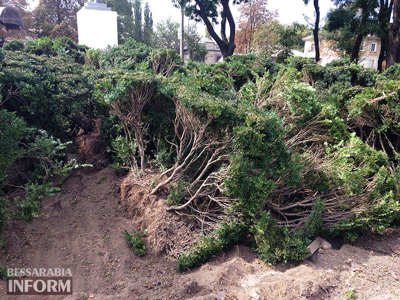 park-shevchenko_izmail-1 В Измаиле обновляют территорию возле Шевченка (фото)