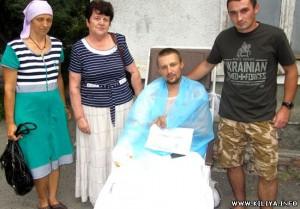 Жители Шевченково собрали почти 30 тыс. для раненных пограничников