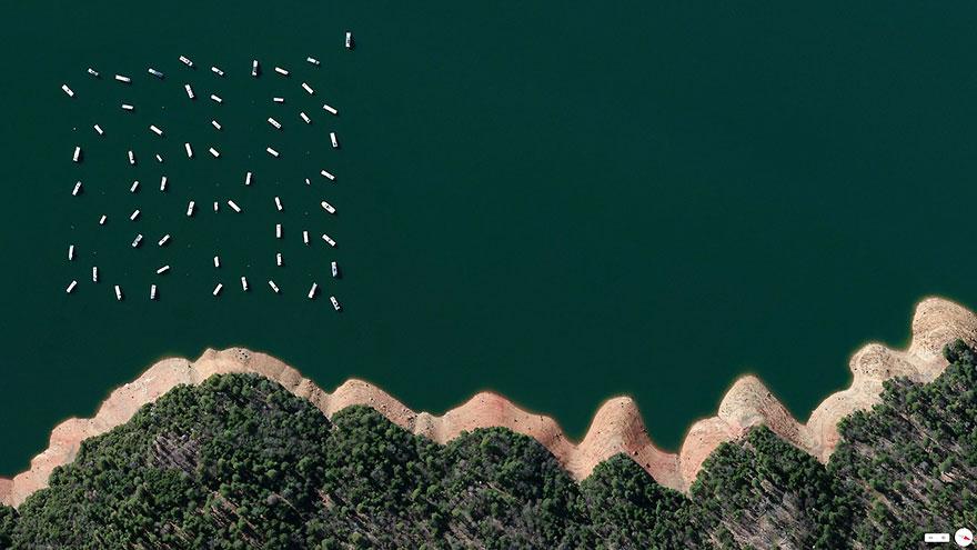 satelliteaerials07 30 удивительных спутниковых фото