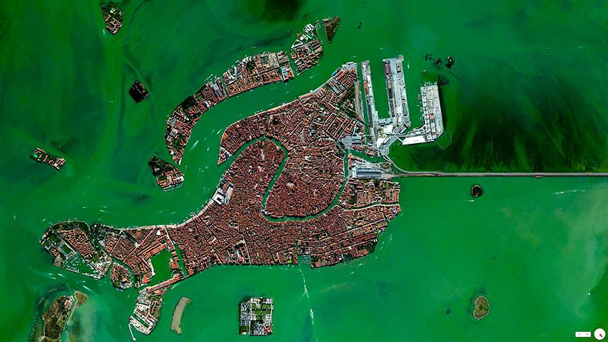 satelliteaerials09 30 удивительных спутниковых фото