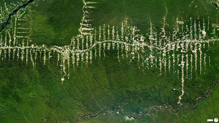 satelliteaerials13 30 удивительных спутниковых фото