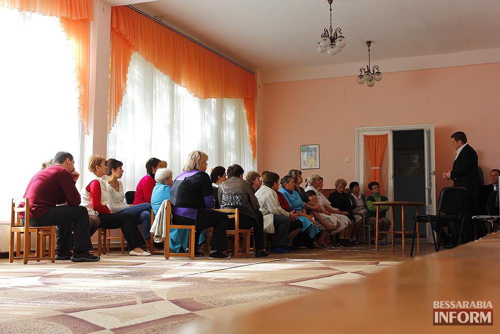 фот8 А. Дубовой посетил с рабочей поездкой Ренийский район (фото)