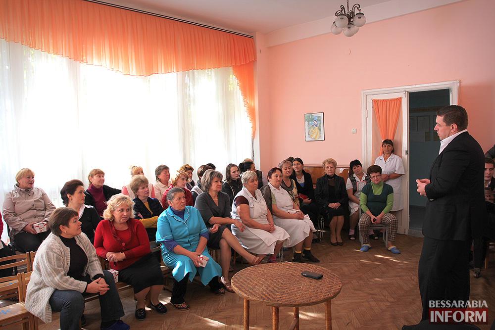 фот9 А. Дубовой посетил с рабочей поездкой Ренийский район (фото)