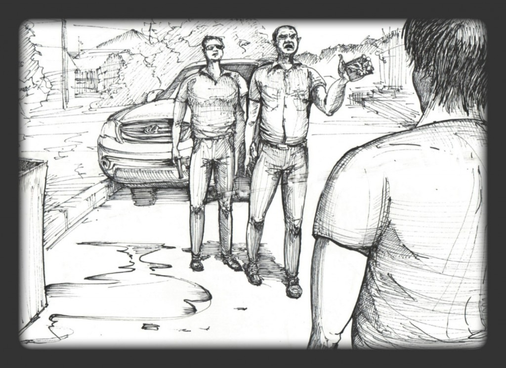 141020_sergey3_1-1024x744 Донецкий Бэнкси создал серию рисунков о пытках в плену у боевиков